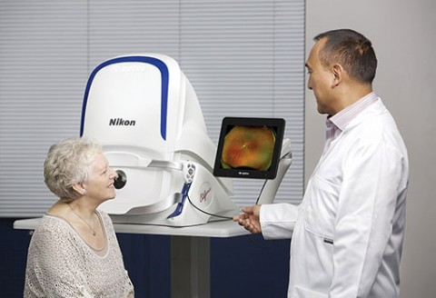 optomap Ultra-Widefield Retinal Imaging